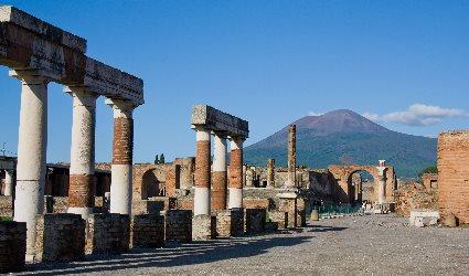 Pompei Ercolano e Vesuvio panoramico
